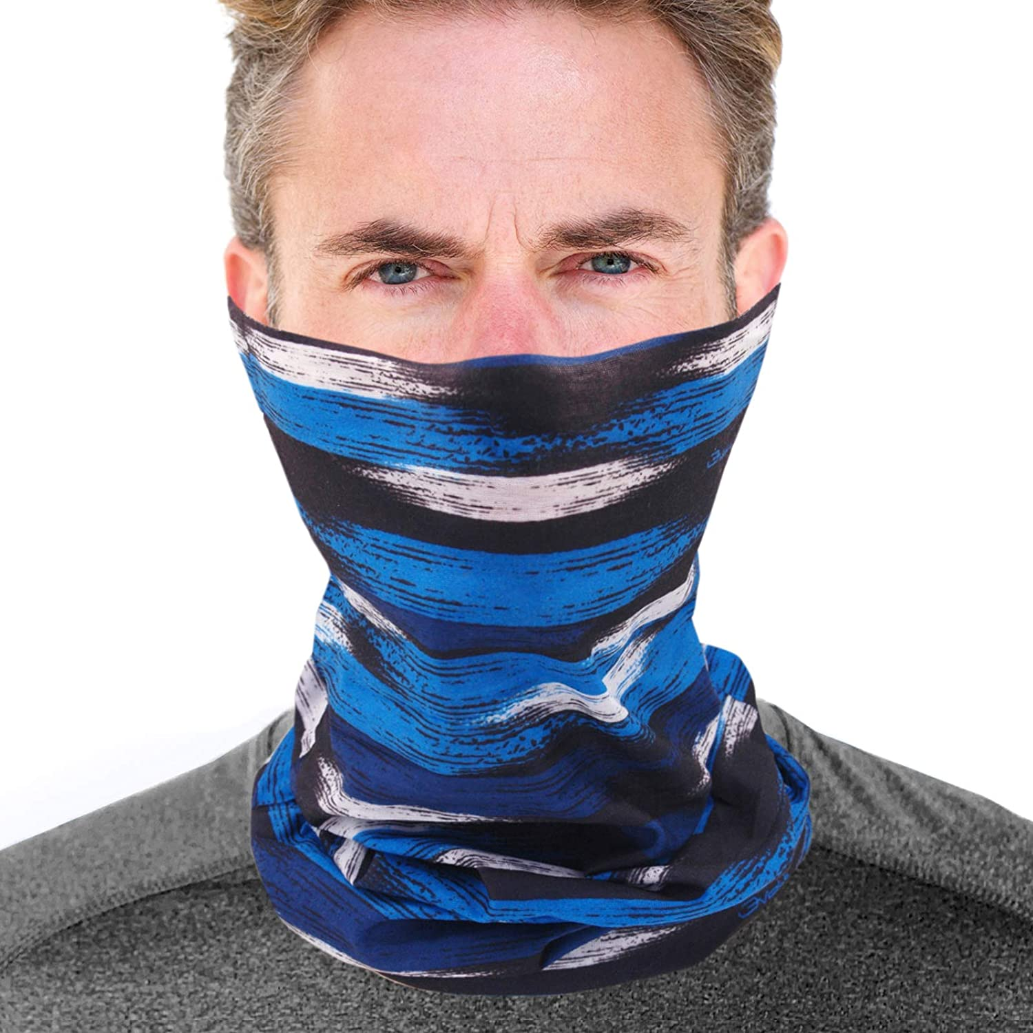 Neck Gaiter Breathable Fishing Face Mask For Sun Protection Summer Soft Face Cov