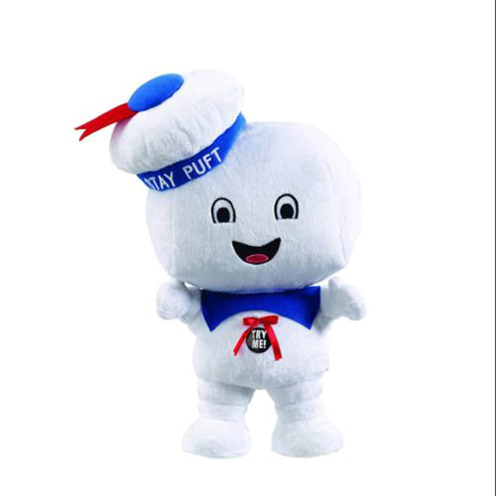 Ghostbusters 15'' Talking Plush Happy Stay Puft Marshmallow Man Plush by Generic