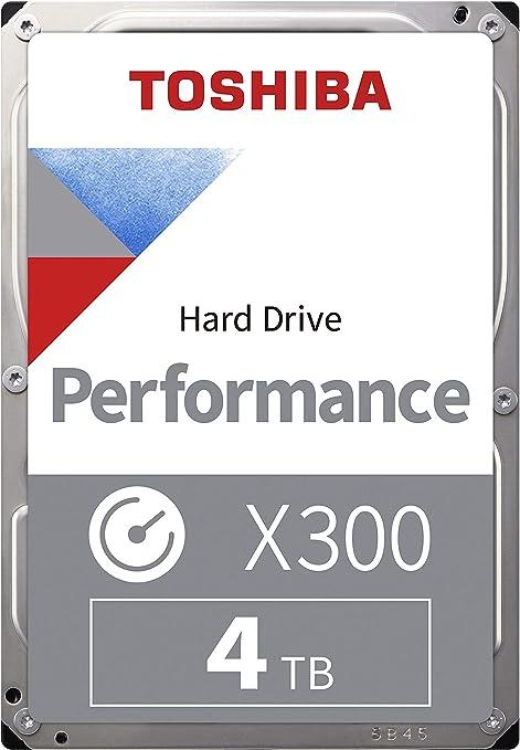 Toshiba X300 - Disco Duro Interno de 4 TB, 3.5