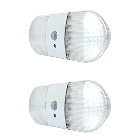 Pack de 2 x Xtralite Omni 6 LED Sensor de movimiento activado luz portátil, batería
