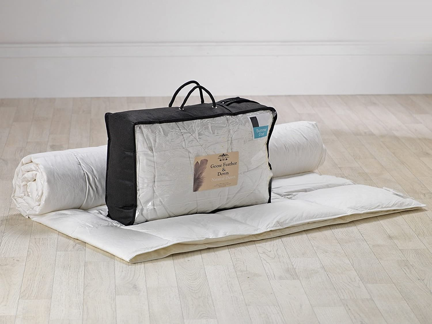Goose Feather And Down Duvet 1.5 Tog