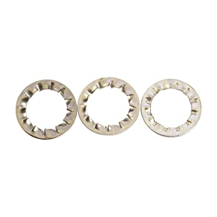 TOOTHED EXTERNAL SERRATED LOCK WASHERS SHAKEPROOF STAINLESS STEEL WASHER BOLT