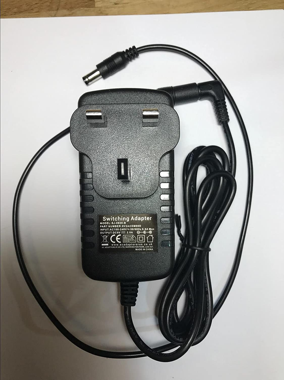 9V 2A Negative Polarity AC-DC Adaptor Power Supply 5.5mm X 2.5mm