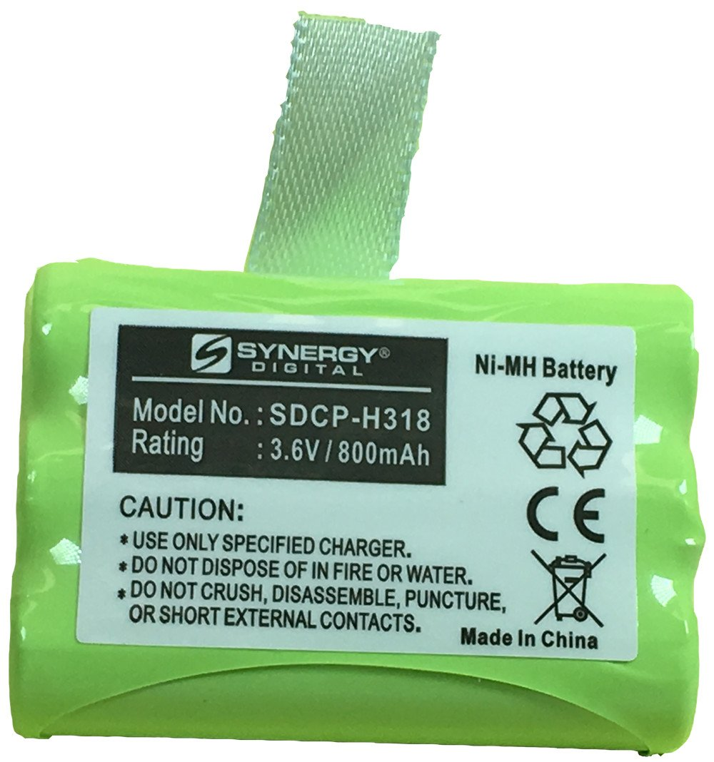 Ultra Hi-Capacity 800 mAh Replacement for Clarity C4220//4230 Rechargeable Battery GP GP80AAAH3BXZ Cordless Phone Battery Ni-MH 3.6 Volt