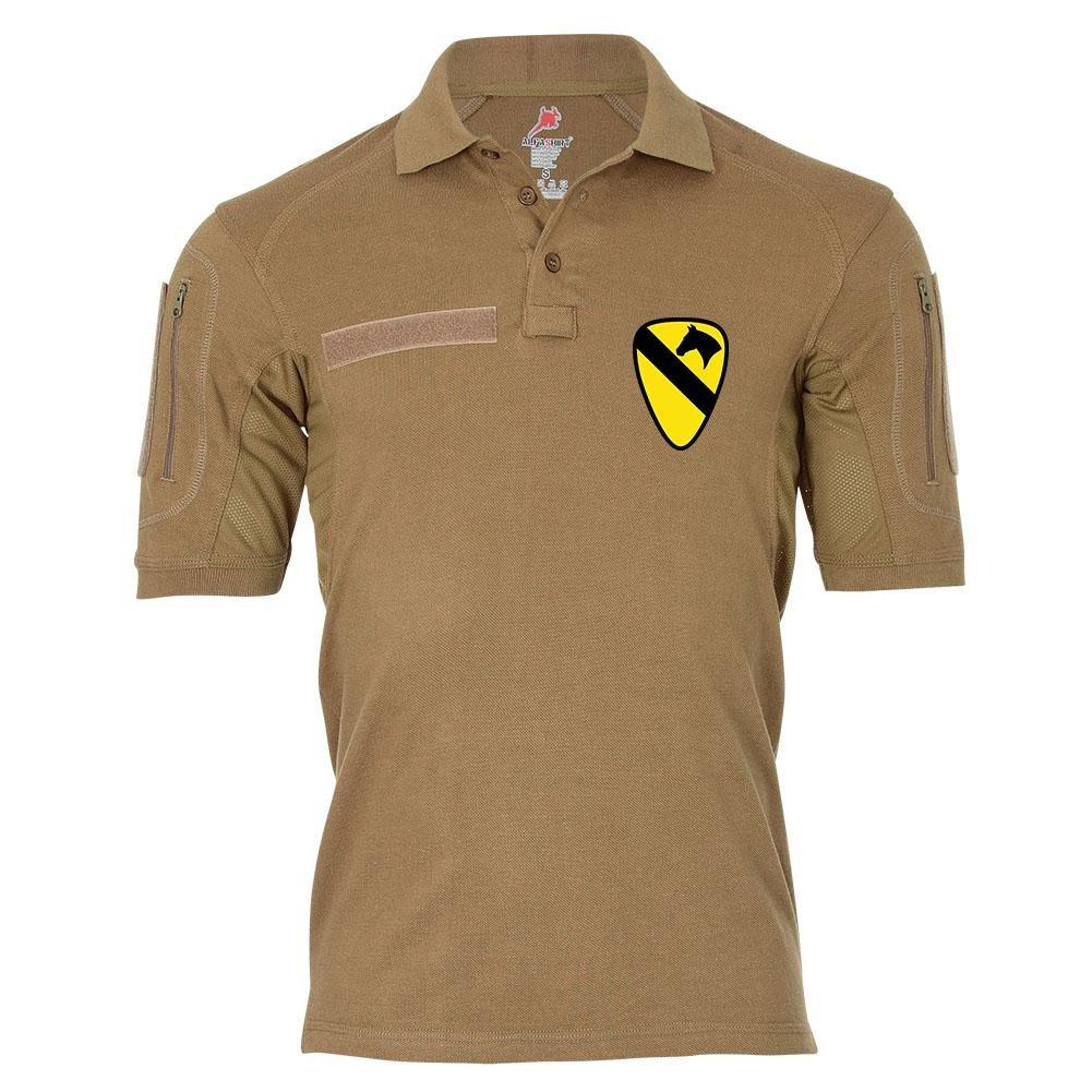 Tactical Poloshirt Alfa - 1st Cavalry Division Kavalleriedivision Panzerdivision US Army United States Militär Wappen  19429