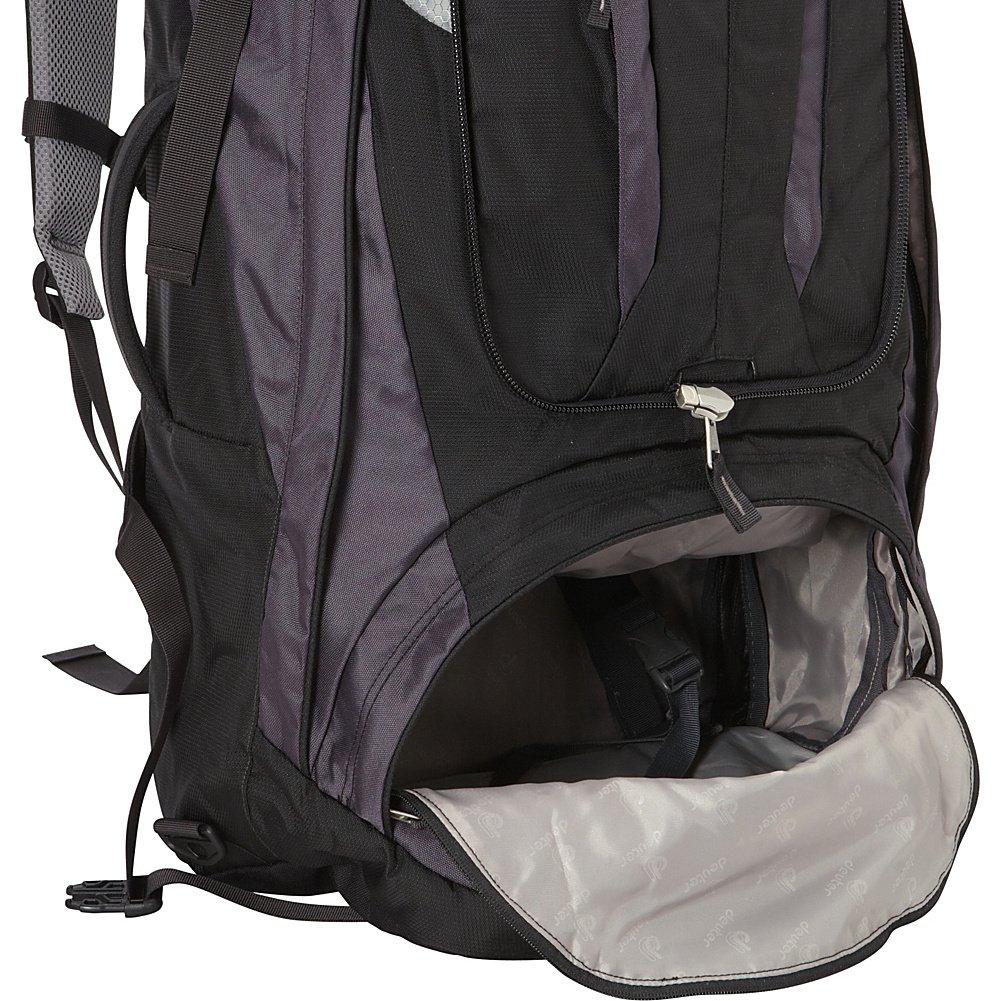 0366b5ac3e Deuter Traveller 70 + 10 - Zaini Unisex Adulto, Nero (Black/Silver),  24x36x45 cm (W x H L): Amazon.it: Scarpe e borse