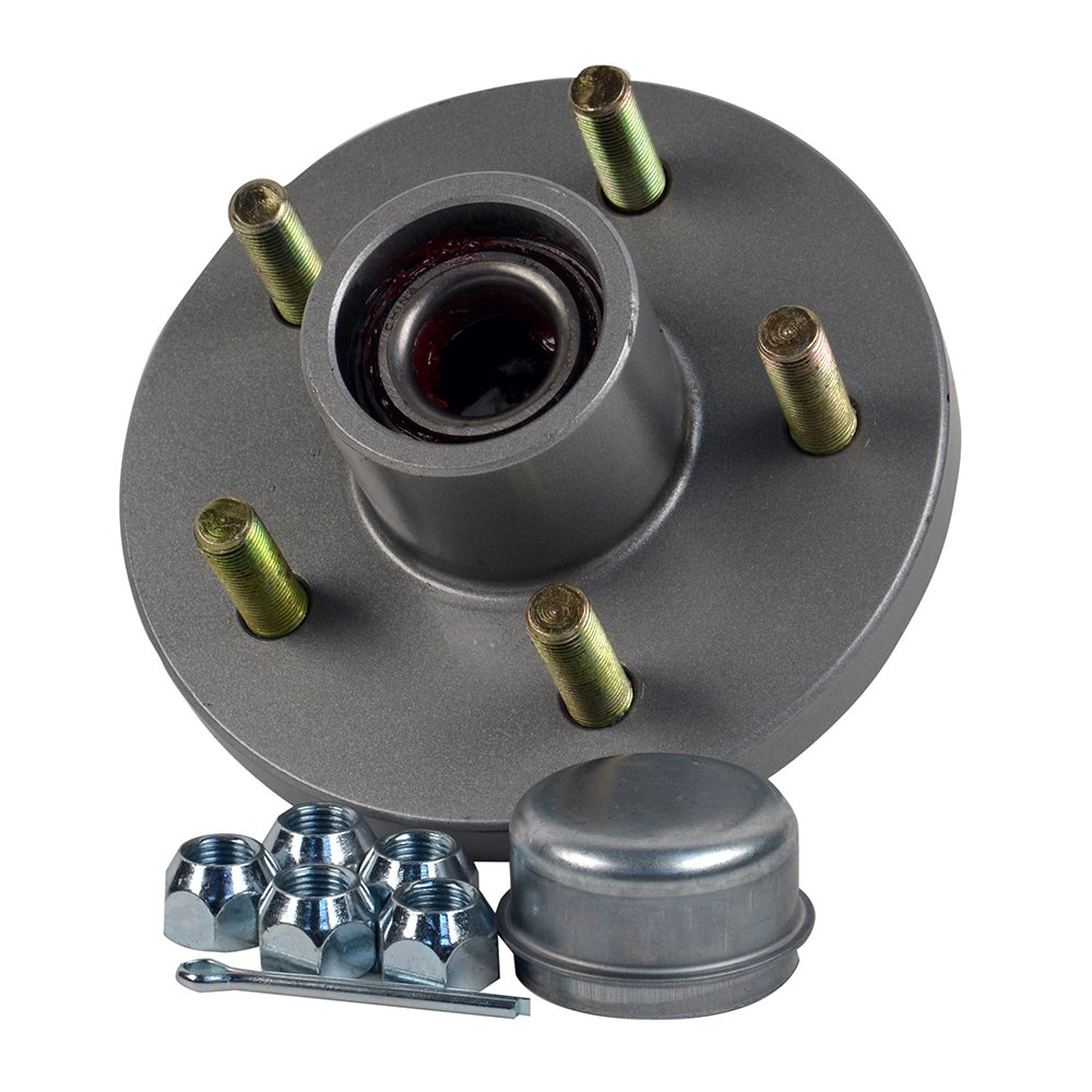 CE Smith Trailer Tapered 1-3/8'' To 1-1/16'' Stud (5 X 4 1/2) Galvanized  Trailer Hub Kit