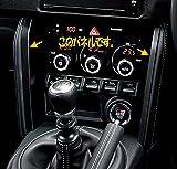 GARAX インジケーターLED カラーチェンジシステム LA100ムーヴ/ムーヴカスタム エアコンパネル/クリア LC-MV10-EW