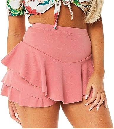SINWASD - Falda abombada de Gran tamaño, Falda Sexy para Mujer, de ...