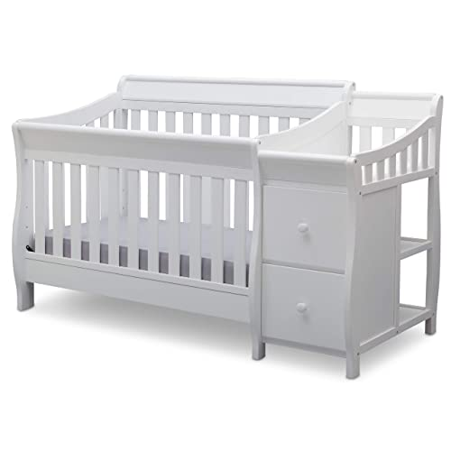 Delta Children Bentley S Convertible Crib and Changer