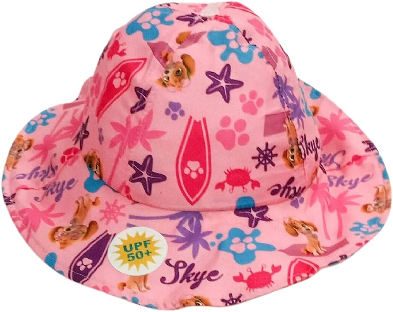 NEW Licensed Paw Patrol Kids Pink Bow Bucket Girls Hat Camping Outdoor Gift
