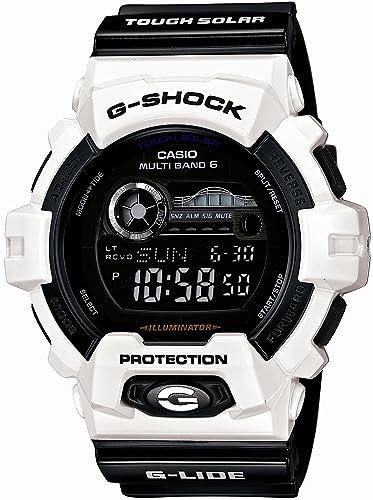 Reloj Casio G-shock - Reloj G Shock G-Lide jiraido Tough Solar Reloj de Radio multibanda 6 GWX-8900B-7JF hombre: Amazon.es: Relojes