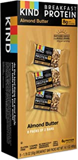 product image for KIND Bars Breakfast Protein, Almond Butter, 8 Pack of 2 Bars, 1.76 oz (50 g) Each