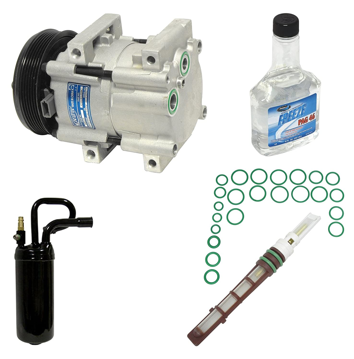 Universal Air Conditioner KT 1454 A//C Compressor and Component Kit
