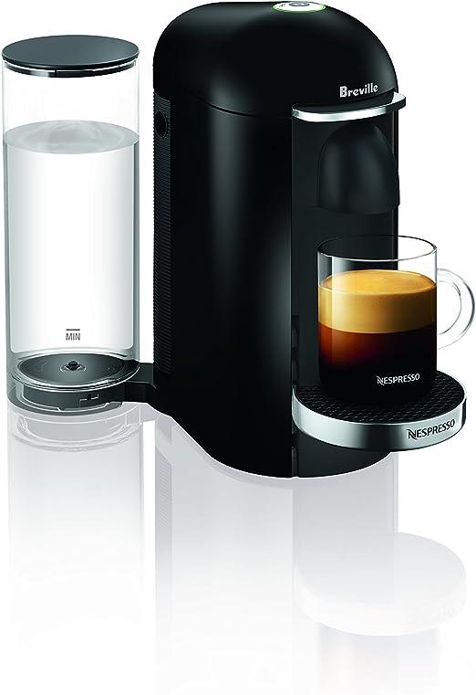 Amazon.com: Nespresso VertuoPlus, cafetera de lujo negra ...