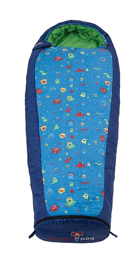 Preis vergleichen neueste Schnäppchen für Mode Grüezi Bag - Monster Kids mitwachsender Kinderschlaf