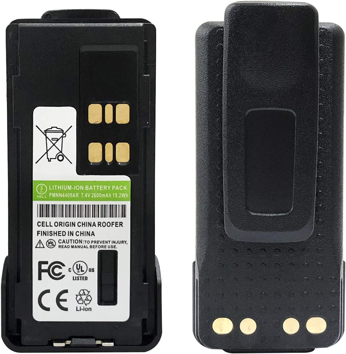PMNN4409 Battery For Motorola XPR7350 XPR7380 XPR7350e XPR7380e Portable