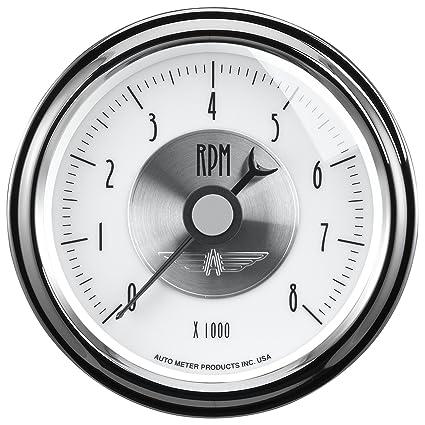 amazon com: auto meter 2098 prestige pearl 3-3/8