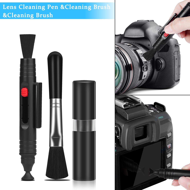 Xpassion Kamera Reinigungsset, Profi Kamera Reinigungsset, Fotografenzubehöre, Digitalkamera DSLR Reinigungsset, Geschenk Fotograf