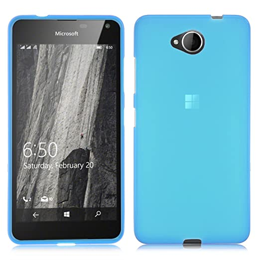 6 opinioni per ELTD Microsoft Lumia 650 Cover, High quality smooth silicone back case