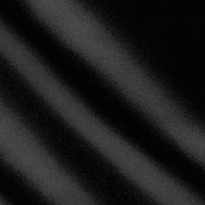 """1 X Black Satin Fabric 60"""" Inch Wide - by The Yard - for Weddings, Decor, Gow."""
