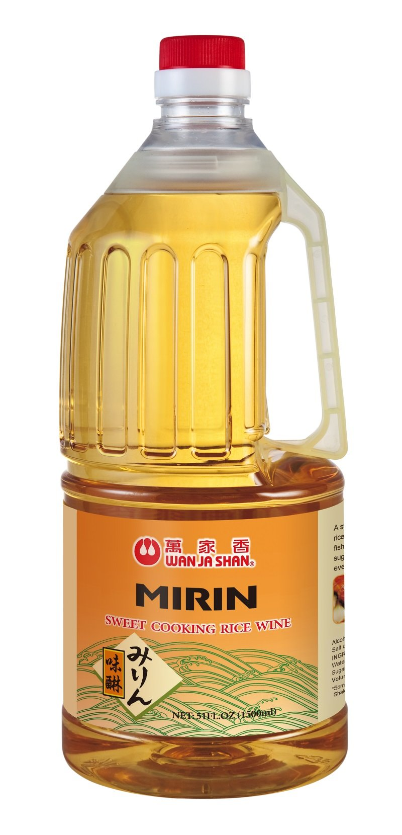 Wan Ja Shan Sweet Cooking Rice Wine (Mirin) 50 oz