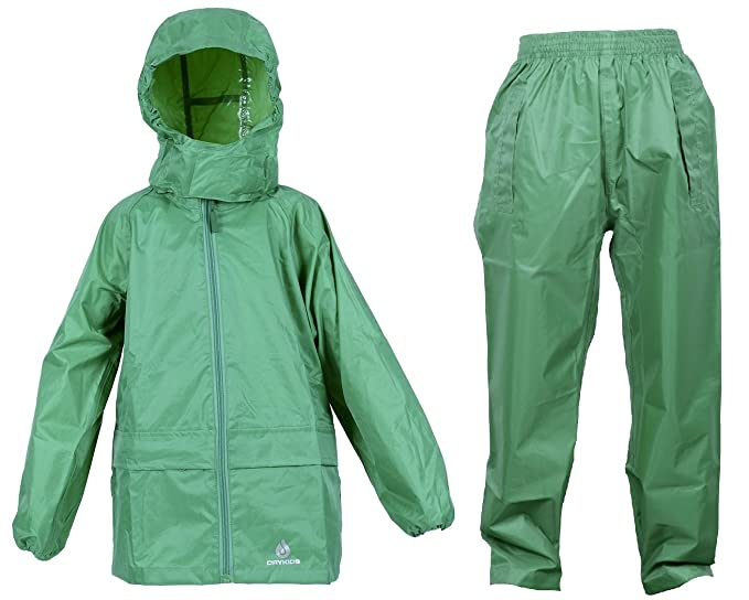 a180d1ee1 DRY KIDS Adult Waterproof Jacket and Overtrousers Set. Rainwear for ...