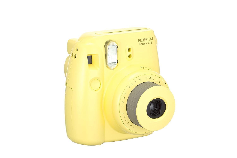 Amazon.com: Fujifilm Instax Mini 8 Instant Camera (Yellow ...