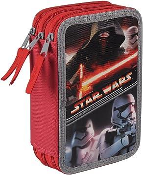 Cerda 2700000167 - Estuche 3 Cremalleras Star Wars New: Amazon.es: Juguetes y juegos