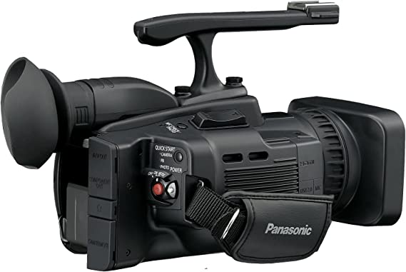 with SDC-26 Case Camcorders and Pro Video Cameras Panasonic HC-V210K Camcorder External Microphone XM-AD2 Dual Channel XLR-Mini Audio Adapter for DSLR/'s