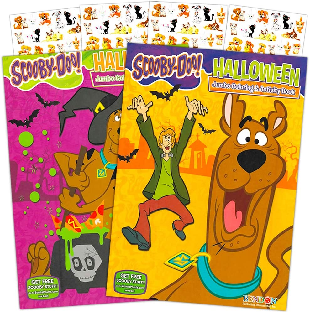 Scooby-Doo Coloring Book with Stickers ~ 96 Pages