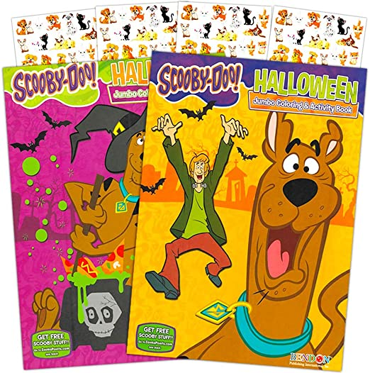 FREE SHIPPING Scooby Doo Sticker Book 111 Stickers