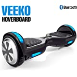 VEEKO Bluetooth Speaker - Model 102 Self Balancing Scooter Hoverboard with LED Indicator Lights and Wheel Light 350W Dual Motor, UL 2272/2271 Certificate, Aluminum Alloy Durable Wheels