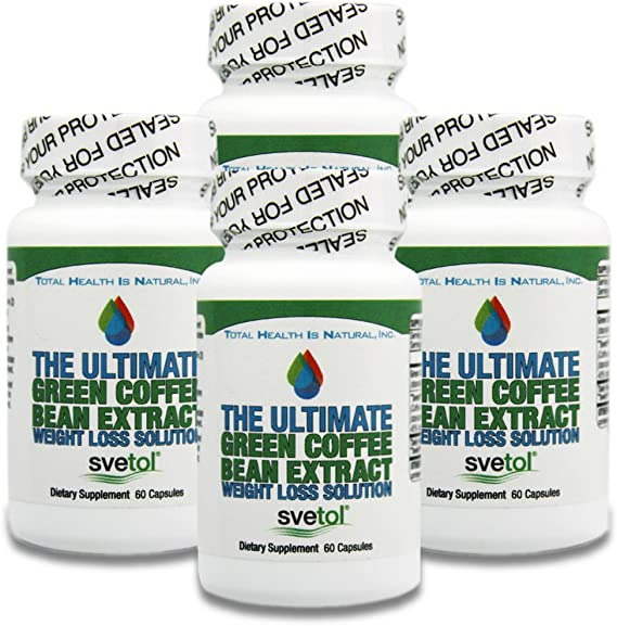 Amazon Com Ultimate Green Coffee Bean Extract With Svetol 400mg Per Capsule 240 Capsules Buy 3 Get 1 Free 50