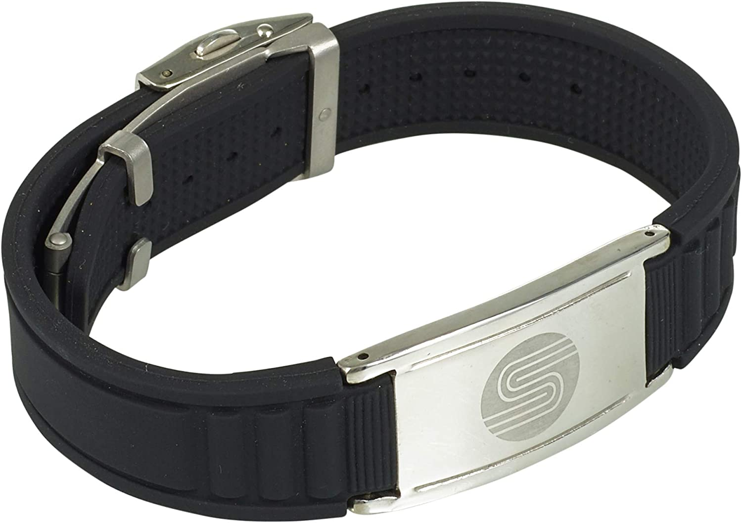 SATORI 4 in 1 Negative Ion Band, Germanium, Silicone,Charged with Negative Ions, The Ionic & Stylish Therapy Bracelet Unique Gift