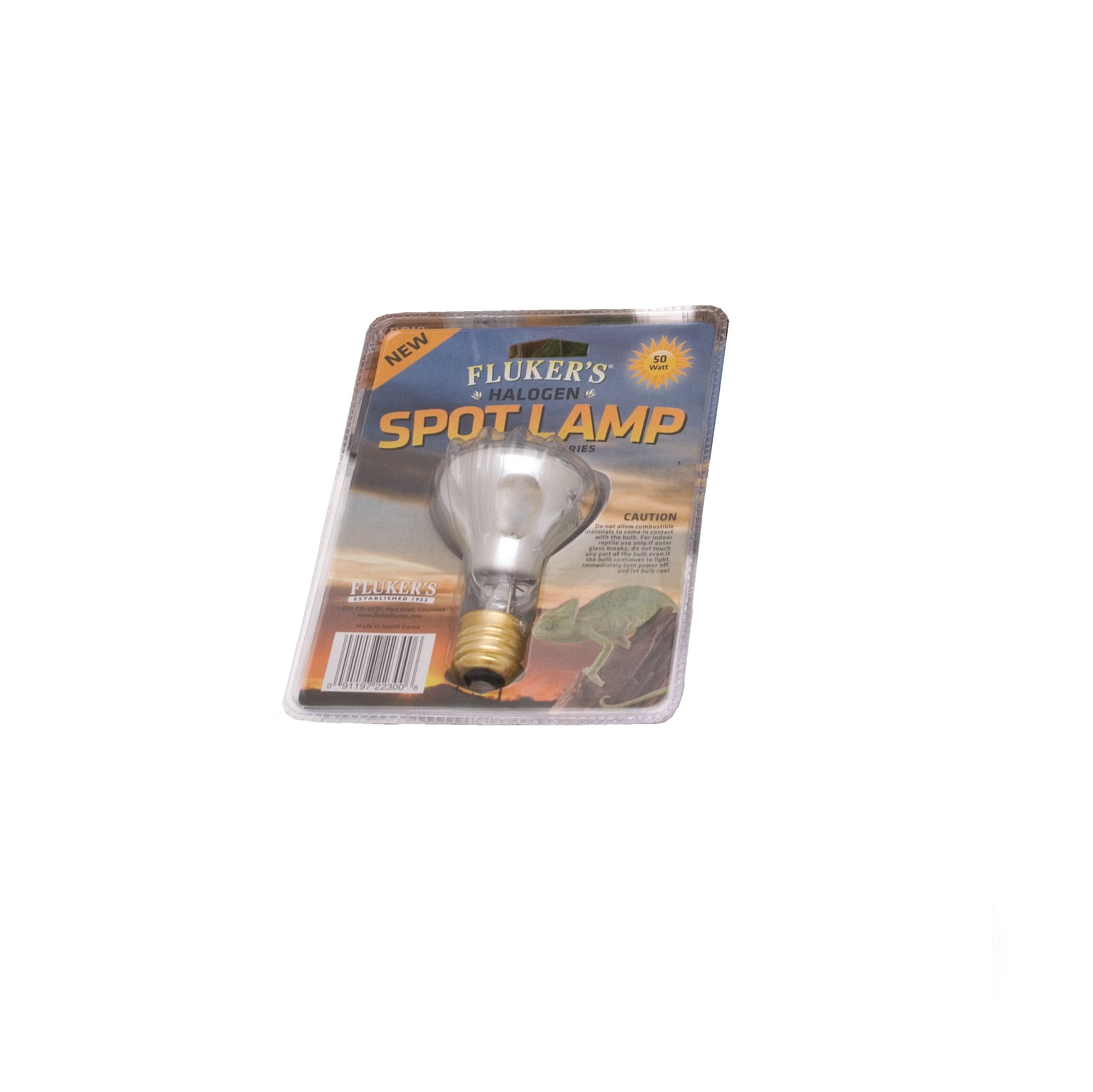 Fluker's Professional Series Reptile Halogen Spot Lamp, 75 Watt