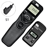 PIXEL TW-283/S1 LCD Wireless Shutter Release Timer Remote Control for Sony
