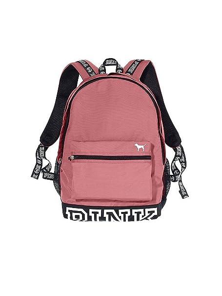 Victoria s Secret - Mochila Campus Pink begonia suave: Amazon.es: Ropa y accesorios