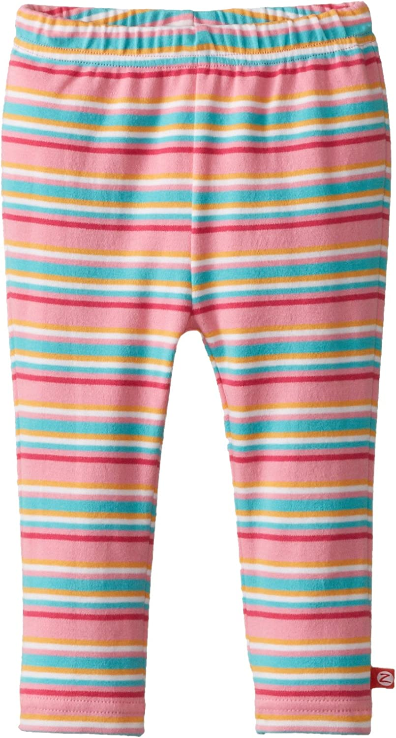 Baby Girls 12-18 months Zutano Pink Infant Tights with Stripes