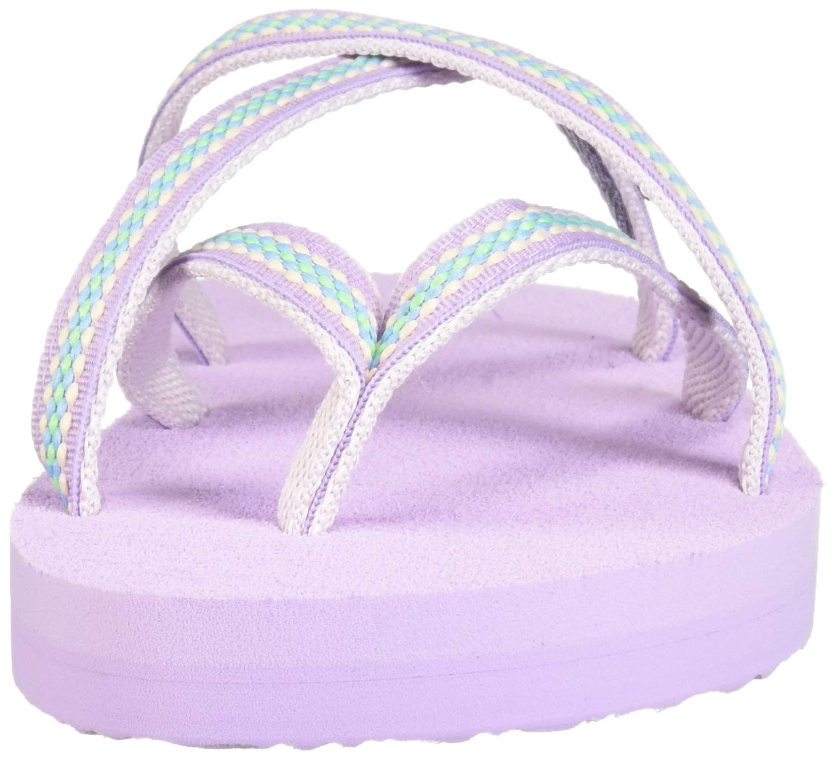 Teva Girls' Y Olowahu Sport Sandal, Lindi Orchid Bloom, 7 Medium US Big Kid by Teva (Image #4)