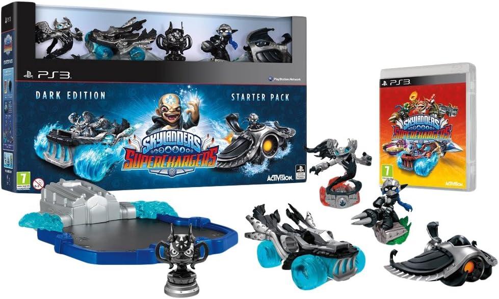 Activision Skylanders SuperChargers Dark Edition SP, PS4 - Juego (PS4, PlayStation 4, Acción / Aventura, E10 + (Everyone 10 +)): Amazon.es: Videojuegos