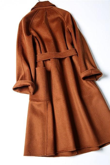 Xuanku Doble Tweed Abrigo konfr ontiert; un Agua welligkeit Abrigo; un handgemachten Puntas Longitud