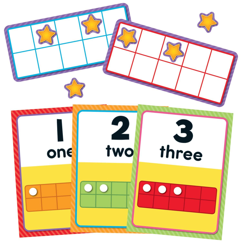 Carson Dellosa Numbers 0-20 Bulletin Board Set (110378) by Carson-Dellosa