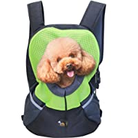 Ondoing Pet Backpack Carrier, Dog Puppy Cat Kitten Front Carrier, Pet Travel Bag, Hands Free Pet Carrier for Traveling…