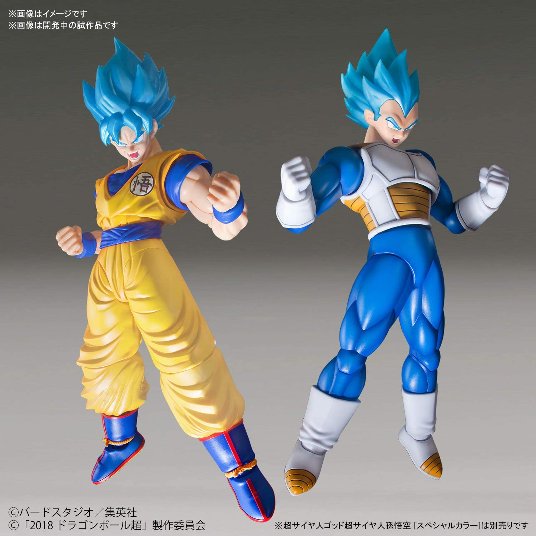 Bandai Figure Rise Standard Super Saiyan God Vegeta Dragon Ball Blue SS Blue new