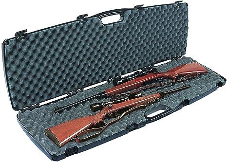 Plano 10586 Pistola Protector Se Doble Scoped / Escopeta Estuche: Amazon.es: Deportes y aire libre