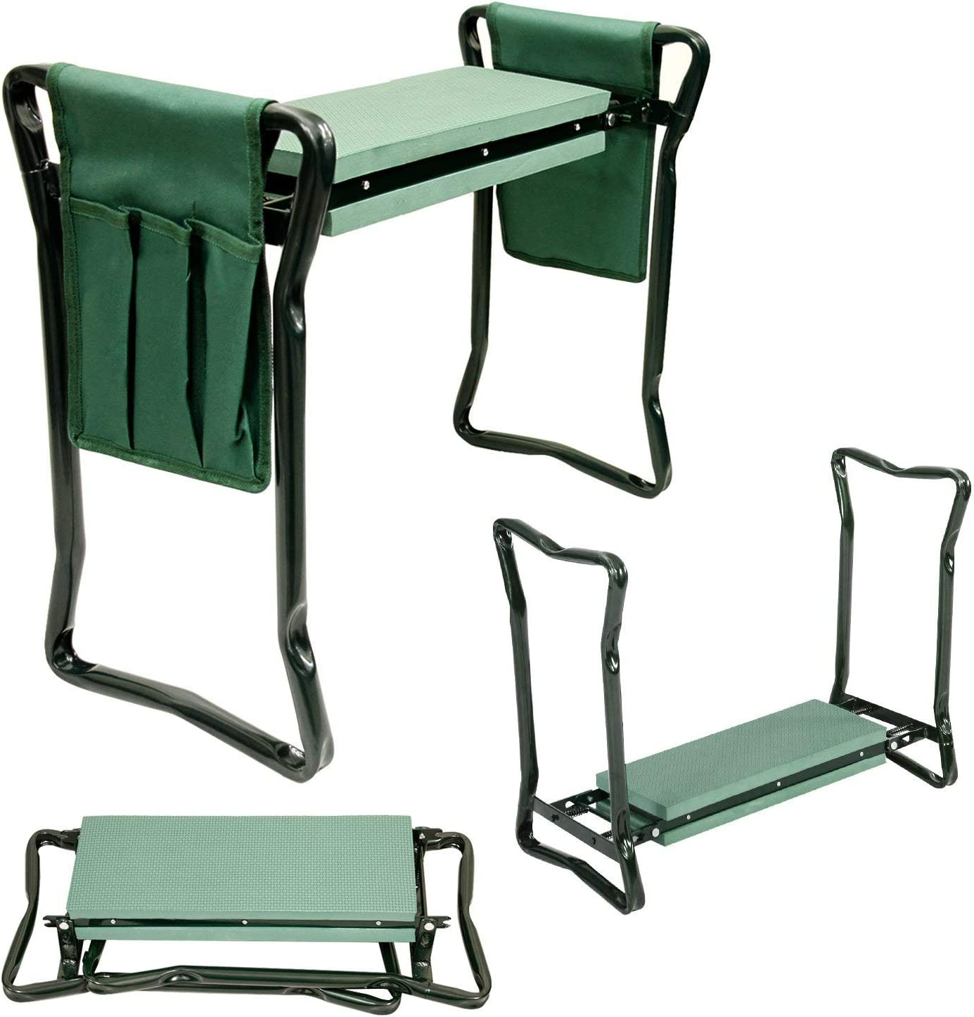 Portable GARDEN KNEELER Foam Chair Seat Gardening Knee Pad Padded Stool NEW
