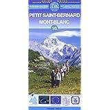 Carte de randonnée : Mont Blanc, N° 16 (bilingue français-italien)