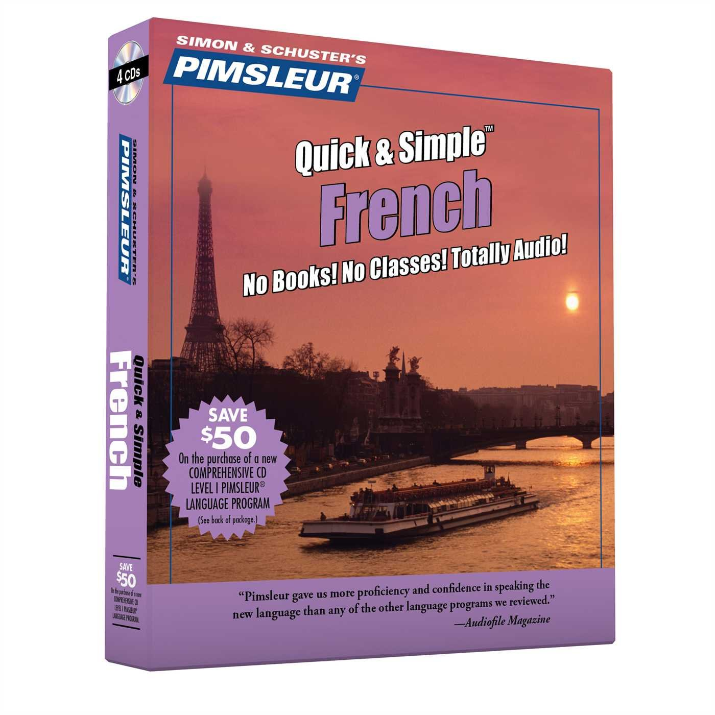 French quick & simple cd language course | learn to speak french.
