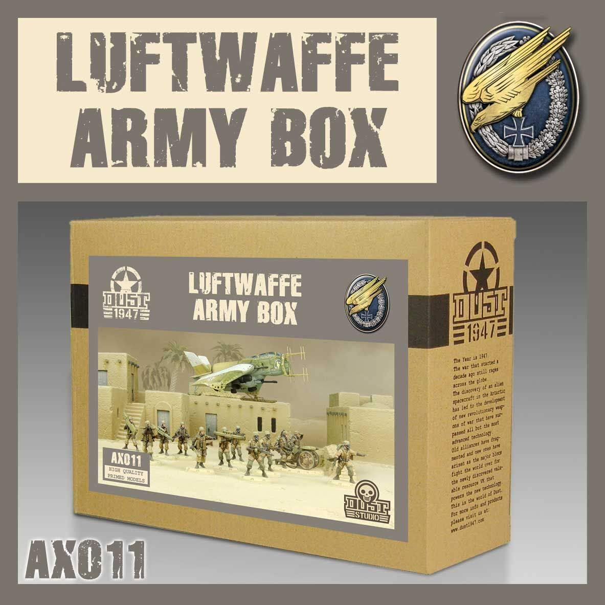 DUST 1947 - Axis Luftwaffe Army Box
